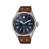 【Citizen星辰】PROMASTER世界萬年曆光動能腕錶-木質棕/BX1010-11L/台灣總代理公司貨享兩年保固