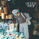Queen Shop【01038348】BE BOLD字母印花短袖TEE 兩色售*現+預*