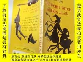 二手書博民逛書店the罕見worst witch 最壞的女 巫 ...Y200392
