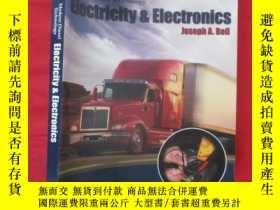 二手書博民逛書店Modern罕見Diesel Technology: Elect