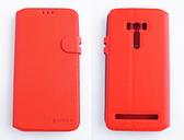 gamax ASUS ZenFone Selfie(ZD551KL) 磁扣荔枝紋側翻手機保護皮套 插卡側立內TPU軟殼全包 商務二代