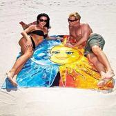 K.J時尚(WUNa07)批發新款月亮花薄人棉方形紗巾沙灘墊裹巾披肩沙灘巾 女