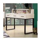 【森可家居】伊凡卡4尺書桌(不含桌上架) 7ZX606-3