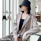LULUS【A01200791】E短版西裝外套2色