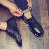 馬丁靴   港風男鞋英倫休閒皮鞋大頭鞋韓版馬丁靴潮學生   ciyo黛雅
