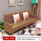 簡易小戶型布藝沙發簡約現代雙人三人服裝店鋪客廳折疊沙發床兩用  一米陽光