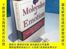 二手書博民逛書店Molecules罕見Of Emotion: The Scien
