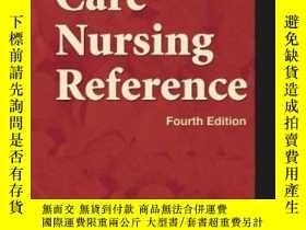 二手書博民逛書店Mosby s罕見Critical Care Nursing ReferenceY364682 Stillwe