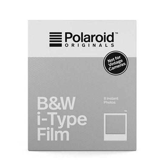 【過期品】Polaroid B&W Film for i-Type 黑白底片(白框4669)