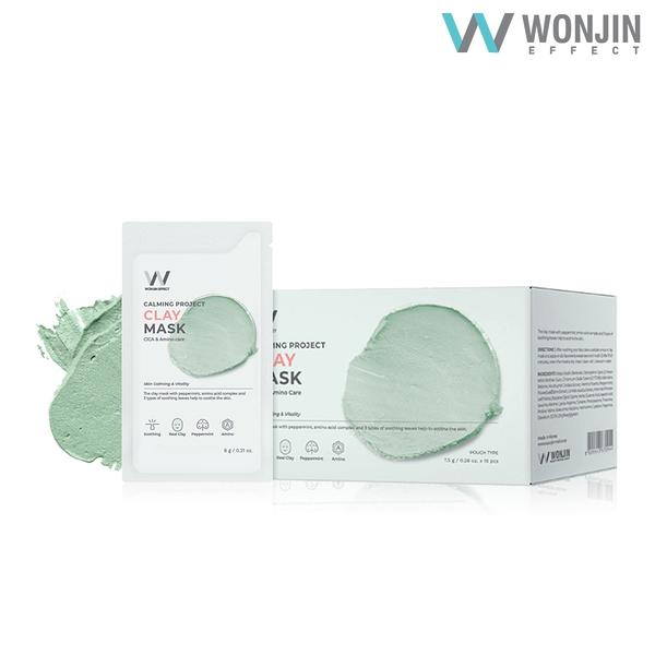 原辰 Wonjin Effect 薄荷胺基酸清潔泥膜 一盒 7.5g x 15包【SP嚴選家】