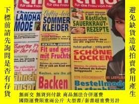 二手書博民逛書店tina罕見fur die Frau von heufe 1997【5本合售】Y21714 出版1997