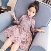 全館85折女童連身裙小女孩裙子蕾絲公主裙 森活雜貨