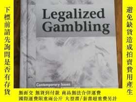 二手書博民逛書店Legalized罕見Gambling (Contemporar