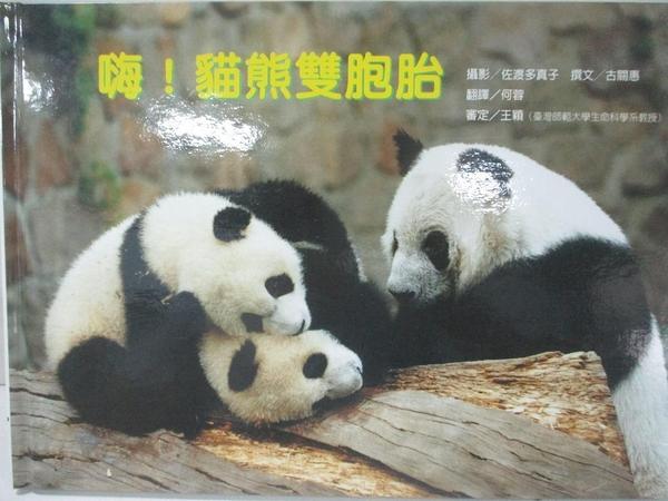 【書寶二手書T9/少年童書_DUU】嗨!貓熊雙胞胎
