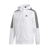 adidas 外套 3-Stripes Jacket 白 黑 男款 風衣外套 運動 訓練 【ACS】 FT2833