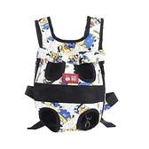 寵物狗狗背包便攜包外出透氣雙肩包貓咪袋背帶狗狗胸前包【宅貓醬】