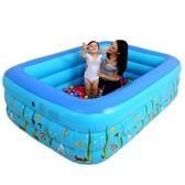 【優選】兒童游泳池嬰兒充氣水池家用大號成人泳池