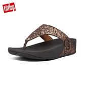 新降66折FitFlop】LULU GLITTER TOE-THONGS 經典亮片夾腳涼鞋-女(巧克力棕)