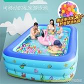 盈泰充氣游泳池家用加厚小孩嬰兒家庭超大泳池戶外大型兒童水池YYJ 阿卡娜