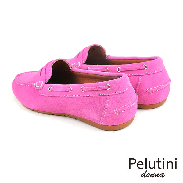 【Pelutini】donna經典休閒鞋/女鞋 粉紅(8336W-PINS)