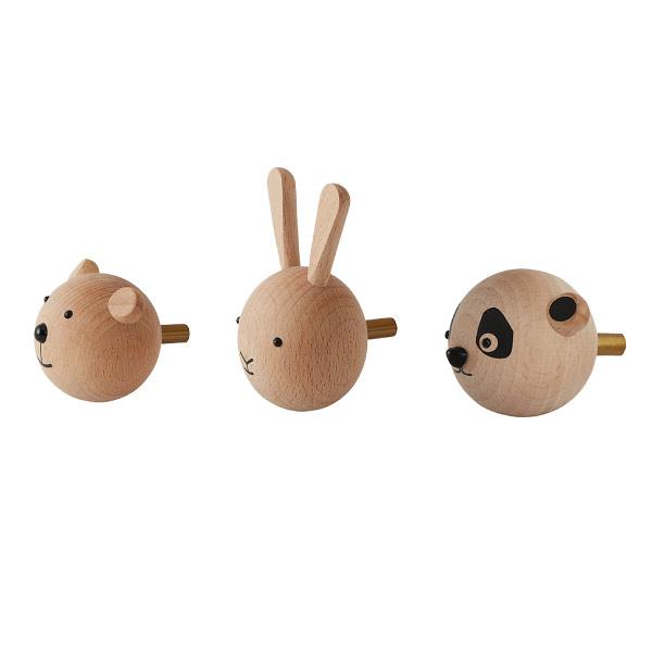 丹麥 OYOY Mini Hook 童趣木製掛鉤(3款可選)