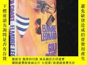 二手書博民逛書店Gold罕見Coast - Elmore Leonard【英文原
