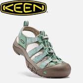 【KEEN 美國 女款 護趾涼鞋《綠/灰》】1016290/水陸兩用鞋/涼鞋/休閒涼鞋★滿額送