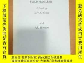 二手書博民逛書店Finite罕見elements in electrical and magnetic field problem