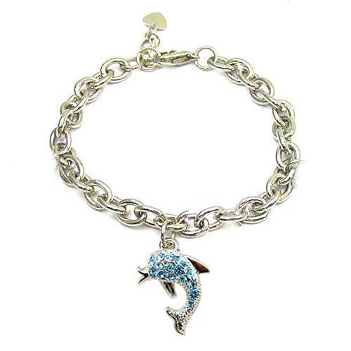 水鑽海豚手鍊