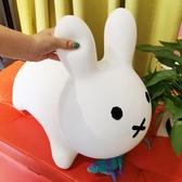 日本米菲兔跳跳馬玩具兒童充氣皮馬坐騎蹦蹦兔miffy公仔加厚無毒 YXS YXS 繽紛創意家居