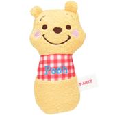 尼德斯Nydus   迪士尼小熊維尼The Pooh 嬰兒安撫玩具手搖鈴絨毛玩偶