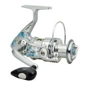 捲線器GC/GA彩漆魚輪魚線輪全金屬線杯遠投紡車輪磯釣輪漁輪
