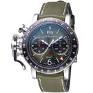 GRAHAM格林漢Chronofighter GMT復古腕錶  2CVBC.G01A.L141S