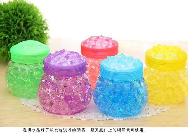 [協貿國際]  小號水晶珠芳香珠固體清新劑空氣清新劑 (5個價)
