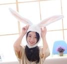 【4色】長耳朵兔子造型頭帽 變裝帽 拍照裝飾品 聖誕節交換禮物 尾牙春酒派對表演 搞怪道具