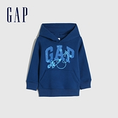 Gap男幼童 Logo創意運動休閒上衣 660601-藍色