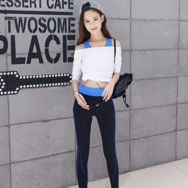 瑜伽服套裝緊身跑步運動背心女春夏季顯瘦修身健身服套裝   - 10640016