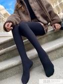 2019新款秋冬季加絨黑色打底褲襪女薄款外穿春秋款內穿保暖棉秋褲 韓慕精品