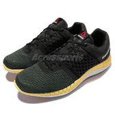 Reebok 慢跑鞋 Zprint Run 運動 休閒 黑黃 男鞋【PUMP306】 V72328