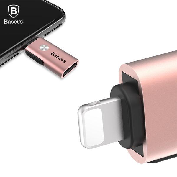 Baseus倍思 小精靈 Apple OTG 轉接頭 多功能 轉接頭