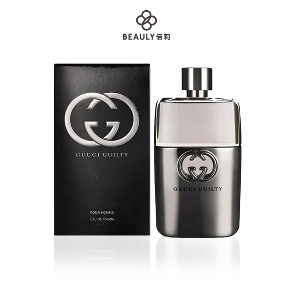 GUCCI Guilty pour Homme 罪愛男性淡香水 90ml《BEAULY倍莉》
