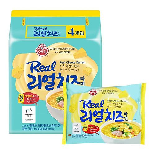 韓國不倒翁超濃厚起司風味拉麵 135公克 X 8入