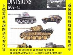 二手書博民逛書店warren-ss罕見divisions 1939-45 平裝Y