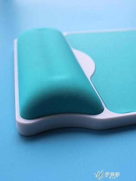 記憶棉硬質加厚滑鼠墊10mm護腕辦公手腕墊滑鼠手托筆記本 【快速出貨】