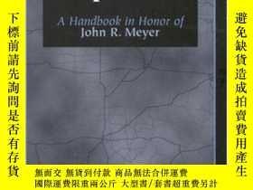 二手書博民逛書店Essays罕見in Transportation Economics and Policy: A Handboo