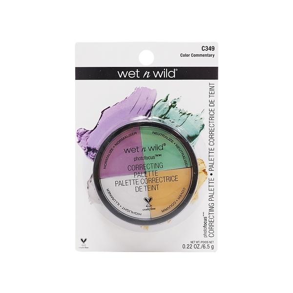 Wet N Wild 精準校色遮瑕盤(6.5g)【小三美日】