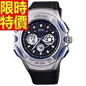 運動手錶-防水經典戶外電子錶7色61ab28【時尚巴黎】