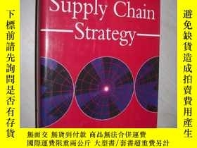 二手書博民逛書店英文原版罕見Supply Chain Strategy [Har