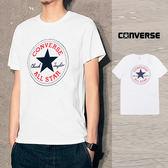 【GT】Converse All Star 白 短袖T恤 休閒 純棉 素色 上衣 短T 基本款 Logo 10007887-A04