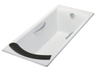 【麗室衛浴】美國 KOHLER  BIOVE系列 鑄鐵浴缸150*75*45CM 有扶手 K-8223T-GR